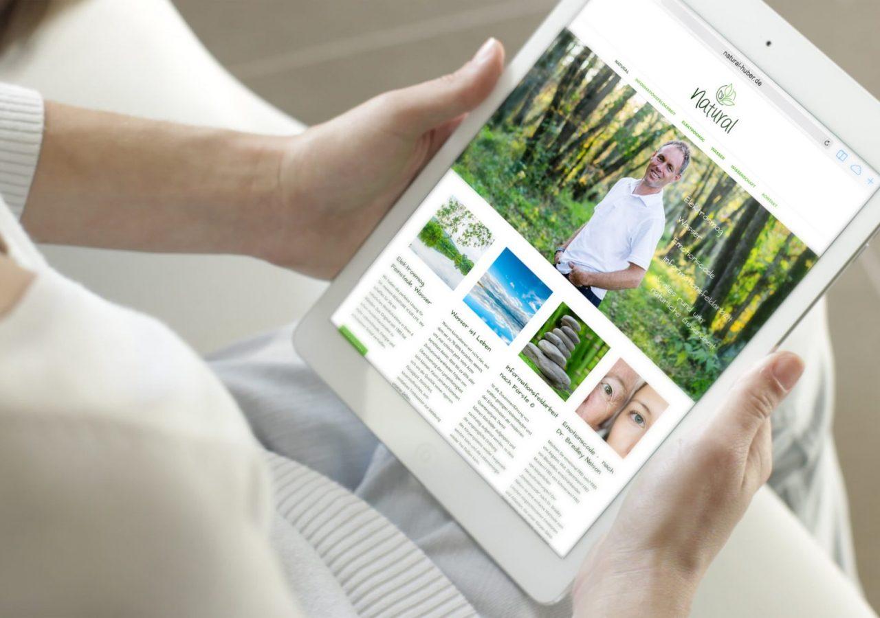 Allgäuhero Werbeagentur Referenz natural Praxis Kaufbeuren